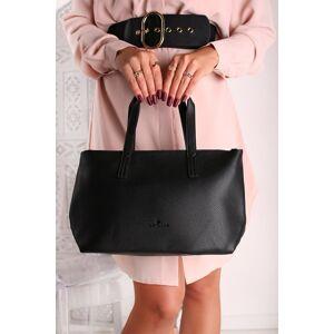 Černá shopper kabelka Marla