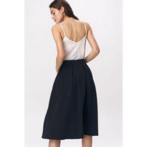 Tmavě modrá sukně SP50