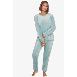 Mätové velúrové pyžamo 230451