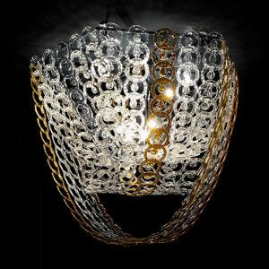 Novaresi Circus stropní světlo s řetězovým dekorem