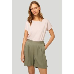 Olivově-zelené šortky 427