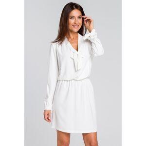 Smetanové šaty S147