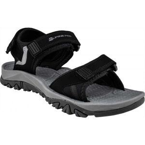 ALPINE PRO ALMAN černá 41 - Pánské sandály
