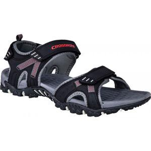 Crossroad MOHSIN černá 45 - Pánské sandály