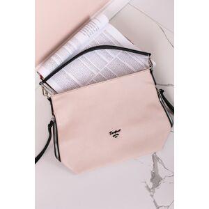 Béžová kabelka na rameno Myrna
