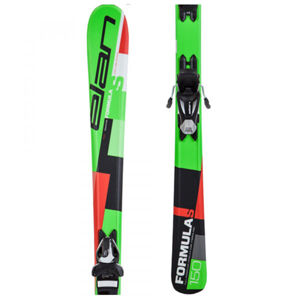 Elan FORMULA S QS + EL 7.5  140 - Dětské sjezdové lyže
