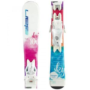 Elan SKY QS + EL 7.5  140 - Dívčí sjezdové lyže