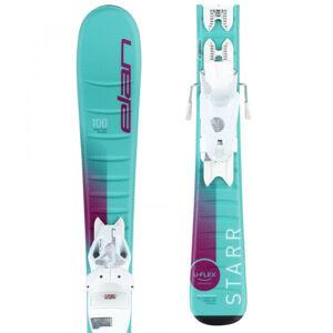 Elan STARR QS + EL 7.5  100 - Dívčí sjezdové lyže