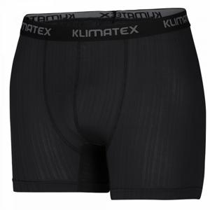 Klimatex BAX černá S - Pánské funkční boxerky