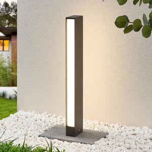 Lucande LED svítidlo pro chodníky Lirka, tmavě šedé