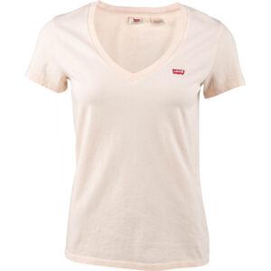 Levi's PERFECT V-NECK TEE SHIRT  S - Dámské tričko