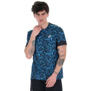 Lotto RUN&FIT TEE PRT PL  2XL - Pánské běžecké tričko