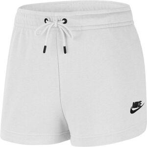 Nike SPORTSWEAR ESSENTIAL bílá L - Dámské šortky