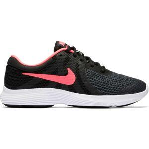 Nike REVOLUTION 4 GS černá 5.5 - Dívčí běžecká obuv
