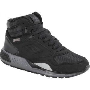 Umbro REDHILL HIGH W PROOF JUN černá 3 - Chlapecká zimní obuv