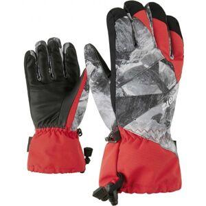 Ziener AGIL AS JR červená 5 - Dětské rukavice